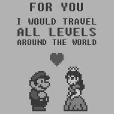 Even Video games can have true love! :)