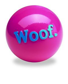 Planet Dog Woof Ball Orbee Tuff. An indestructible dog toy!