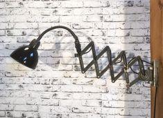 Enamelled scissor lamp Wall Lights, Enamel, Lighting, Home Decor, Isomalt, Homemade Home Decor, Appliques, Polish, Light Fixtures