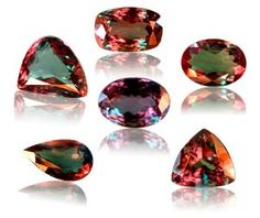 Alexandrite Jewelry - Emerald by day and a Ruby by night