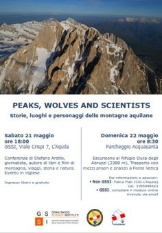 A LAquila Peaks Wolves and Scientists