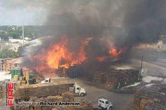 San Antonio Structure Fire September 2008