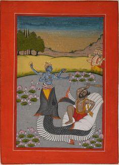 Matsya+Avatara of Vishnu ❤️☀️ Dasavatara