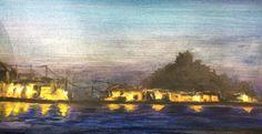 ABK Mortsel - opdracht 2 (nacht), werk van wannes