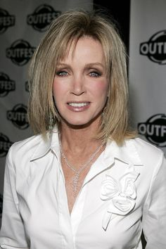 Donna mills hair style | ... donna mills actress donna mills attends the outfest pursuit of