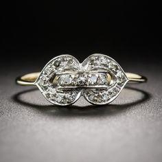 Petite Vintage Diamond Ring