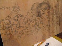 Resultado de imagem para audrey kawasaki