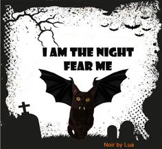 Noir em seu momento halloween :)