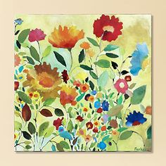 Bought two of this artist's similar prints to brighten up our bathroom!