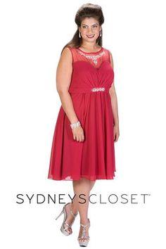 b73e34222bd Sydney s Closet SC8080. Plus Size Prom Dresses ...