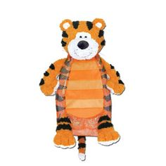 "Stephen Joseph Silly Sac Tiger — 18""— A combination of mesh and plush make these silly little critter backpacks irresistible! Terrific for the beach or stuffed with PJ's for for a sleepover. Fill them with coordinating items for an extra special gift and personalize them with a monogram!"