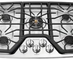 Frigidaire FPGC3087MS Professional 30″ Stainless Steel Gas Sealed Burner Cooktop
