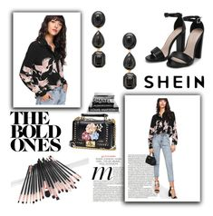 """shein 8/XI"" by amina-haskic ❤ liked on Polyvore"
