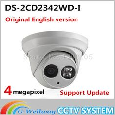 119.00$  Watch here - http://alimbu.worldwells.pw/go.php?t=32730275827 - Newest Original English Version DS-2CD2342WD-I 4MP WDR EXIR Turret Network Camera MINI Dome IP Camera CCTV Camera 2.8mm Lens 119.00$