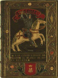 """Tirant lo Blanc"" by Joanot Martorell. Courtesy of the Biblioteca de Catalunya (www.bnc.cat). (Public Domain) (Català) http://www.europeana.eu/portal/record/91911/8ABBB0E2803E06E1E8DE31087B93CD49510DA80C.html"