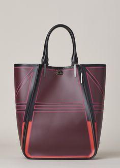 Issey Miyake Guston Shoulder Bag (Bordeaux) Women's Handbags & Wallets - http://amzn.to/2iT2lOF