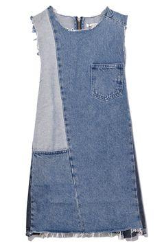 Diy Clothing, Sewing Clothes, Custom Clothes, Denim Fashion, Look Fashion, Mode Jeans, Denim Ideas, Denim Crafts, Shirt Refashion