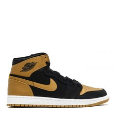 35ec29b0b445 Air Jordan 1 Retro High Melo Pe Series Black Metallic Gold White 332550 026