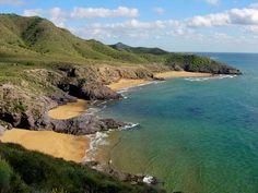 Playa de Calblanque en Cartagena. Más info: http://lamejorplaya.es/guia/playa-calblanque/