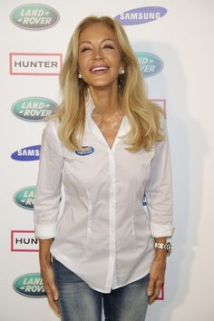 Carmen Lomana Photos: Celebrities Attend 'Land Rover Discovery Challenge' Presentation in Madrid