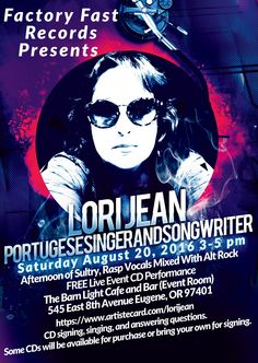 Eugene Oregon Interior Design And Direction By Utilitarian Workshop Portuguese Singer Songwriter Lori Jean Has Been Picked Displayed Music