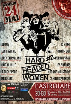 Hard Headed Women #2, Orléans (45000), Centre