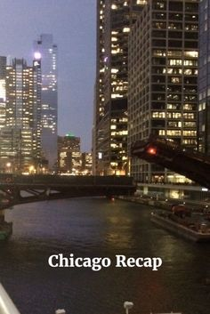 Had a great weekend in Chicago! Chatting about it today on the blog!