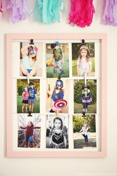 This adorableand super easy photo display craft will take you less than 10 minutes to create. You can customize it tons ofdifferent ways, and it's agreat gift option for your snap happy fr…