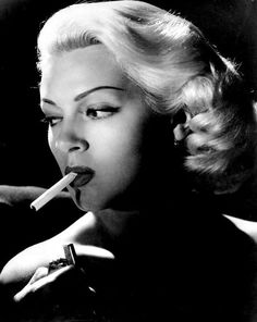 Lana Turner, 1946, promotional shot [detail] for The Postman Always Rings Twice