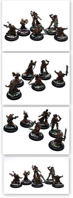 Wyrd Miniatures Malifaux Sonia Criid Crew