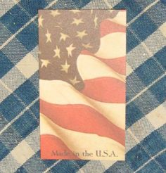 Hangtags - Made in the USA. Support AMERICAN made crafts! 20 tags for $2.00