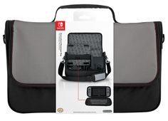 Buy Nintendo Switch Messenger Bag on Switch at Mighty Ape NZ. The Everywhere Messenger Bag stores the complete Nintendo Switch system for easy portability, and features a removable internal case for carrying the . Nintendo Switch 2017, Nintendo Switch System, Nintendo 2ds, Nintendo Handheld, Nintendo Console, Nintendo Switch Accessories, Gaming Accessories, Video Game Console, Bag Storage