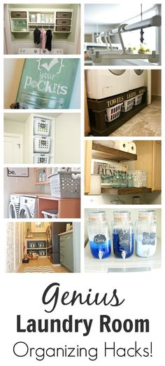 Genius+Laundry+Room+Organizing+Hacks