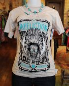 Crinkled Sand Southwest Tee by Affliction