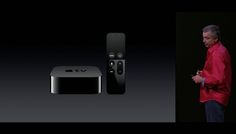 New Apple TV Gets Official At Apple Event - Apple has unveiled it new Apple TV at today's iPhone 6S event and the new device will come with apps and games like the rumors suggested.  The new Apple TV will come with a new remote which comes with a built in touch pad and also Apple's Siri which can be used to control the device. | Geeky Gadgets