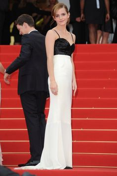 Emma Watson in Chanel at Cannes Film Festival 2013.