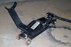 Floor Jack Accessory - Differential Stand, by M. Rousseau | Flickr - Photo Sharing!