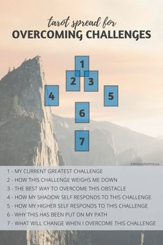 Do you notice yourself continually running into similar challenges over and over again? If so, it's a great indicator that overcoming those challenges is a crucial step on your life path. Decks, Divine Tarot, Tarot Cards For Beginners, Tarot Card Spreads, Astrology Numerology, Astrology Signs, Tarot Card Meanings, Tarot Learning, Life Challenges