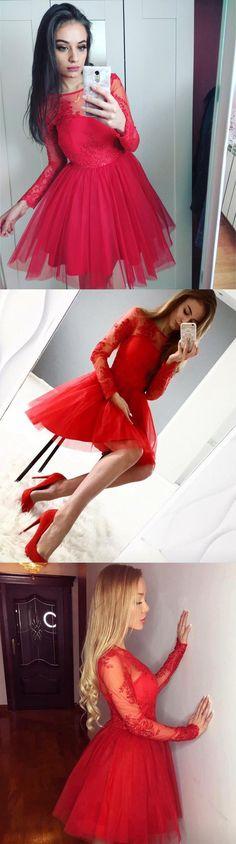 homecoming dresses,short homecoming dresses,cheap homecoming dresses,lace homecoming dresses,long sleeves homecoming dresses,