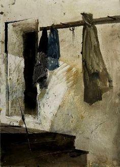 Marshalton Shed-Andrew Wyeth