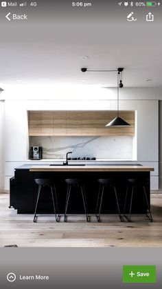 Exceptional kitchen ideas are available on our site. look at this and you wont b Contemporary Kitchen Exceptional Ideas Kitchen site wont Kitchen Room Design, Best Kitchen Designs, Modern Kitchen Design, Home Decor Kitchen, Interior Design Kitchen, Home Kitchens, Kitchen Ideas, Black Kitchens, Luxury Kitchens