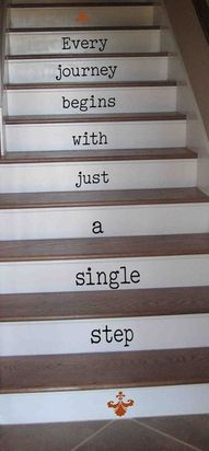 I am serioulsy doing this to my stairs.