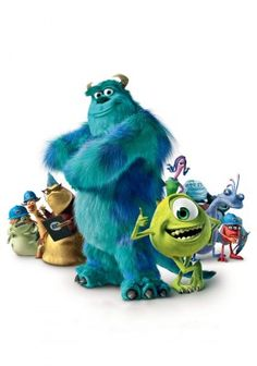 Monsters, Inc. movie poster image