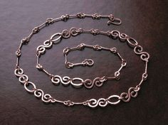 Copper  necklace chain handmade copper chain by copperryfields