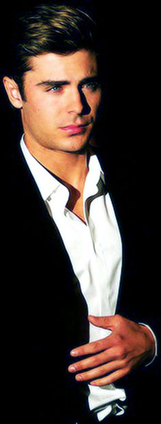 Zac Efron as Grey.  Christian Grey.
