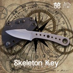 The Skeleton Key from LT Wright Knives. Now available. EDC knife.