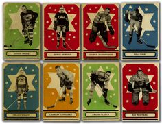 so much better than todays cards, unless they are embossed with foils and holograms. Hockey Posters, Flyers Hockey, Hockey Rules, Montreal Canadiens, Hockey Boards, National Hockey League, Book Cover Design, Nhl, Old School