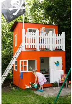 119 best playhouse party images gardens baby doll house kids house rh pinterest com