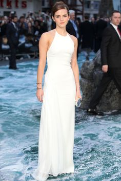 "Emma Watsoni in Ralph Lauren at ""Noah"" premiere at Odeon Leicester Square in U.K."