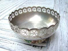 Hey, I found this really awesome Etsy listing at https://www.etsy.com/listing/244492076/vintage-metal-basket-candy-dish-soviet